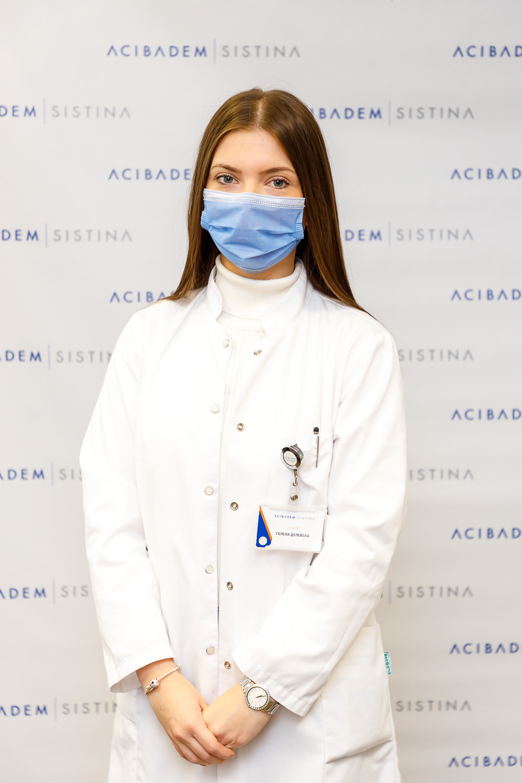 AcibademSistina GalenaDulevska student