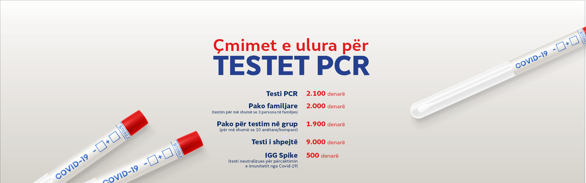 Korporativen WebBanner PCR ALB